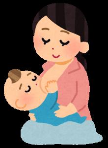 母親,赤ちゃん,授乳