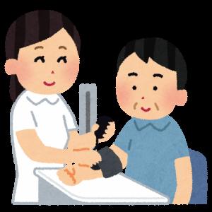 看護師,血圧測定