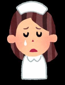 看護師,涙