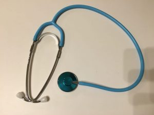 看護師,聴診器