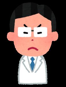 医師,怒る