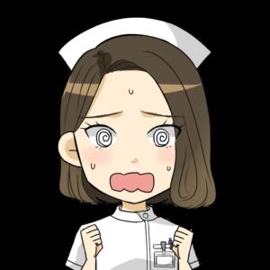 看護師,忙しい